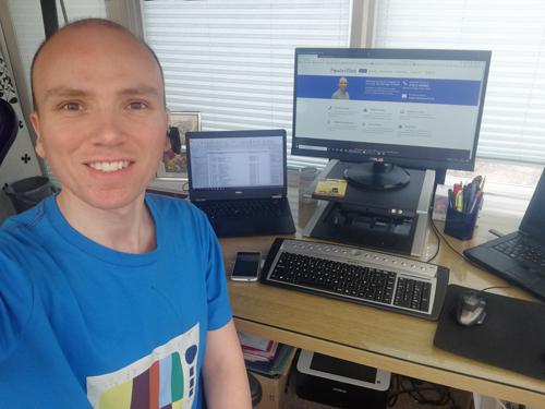 marc fowler providing remote computer support